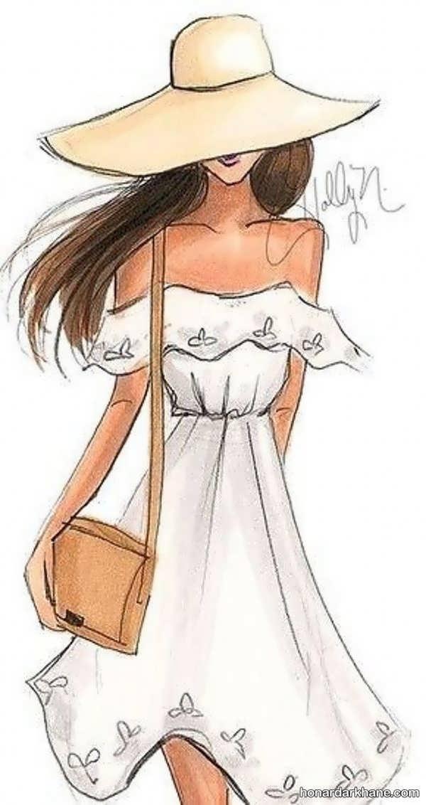 انواع طراحی دخترانه در سبک های زیبا