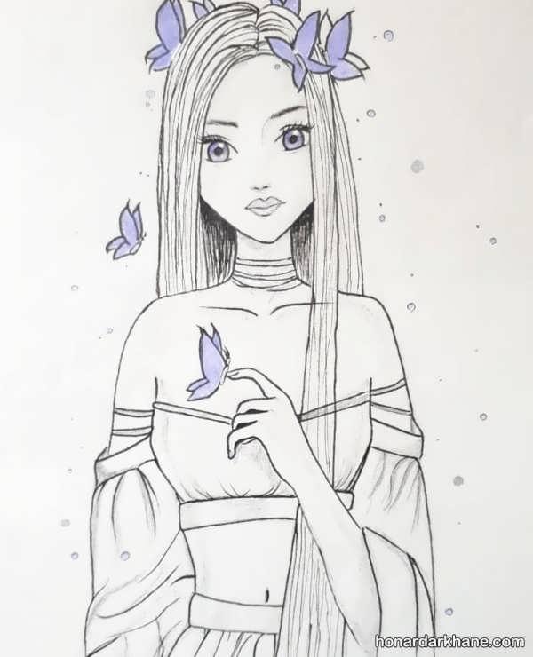 مدل های زیبا و جذاب طراحی دخترانه