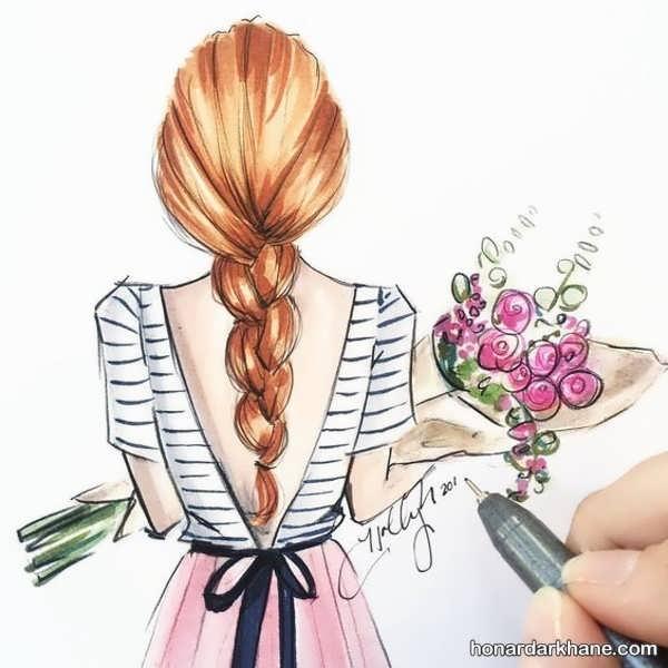 انواع طراحی دخترانه در سبک های جذاب