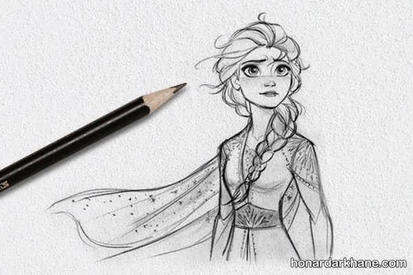 انواع مدل های زیبا و جذاب نقاشی دخترانه