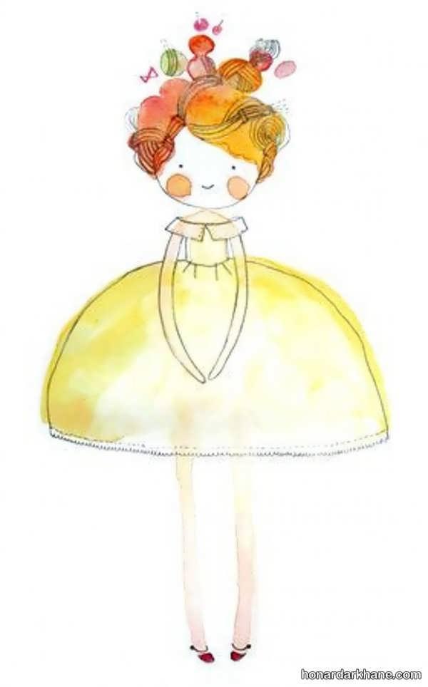 مدل های جالب و جدید نقاشی دخترانه