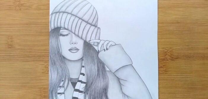 انواع نقاشی دخترانه زیبا و جذاب