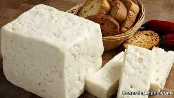 شیوه درست کردن پنیر با استفاده از سرکه