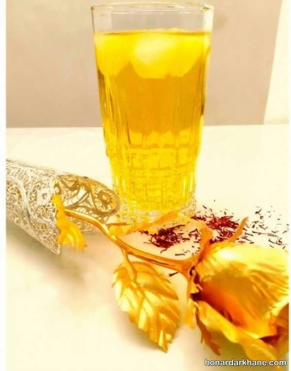 طرز تهیه شربت زعفرانی با طعمی عالی