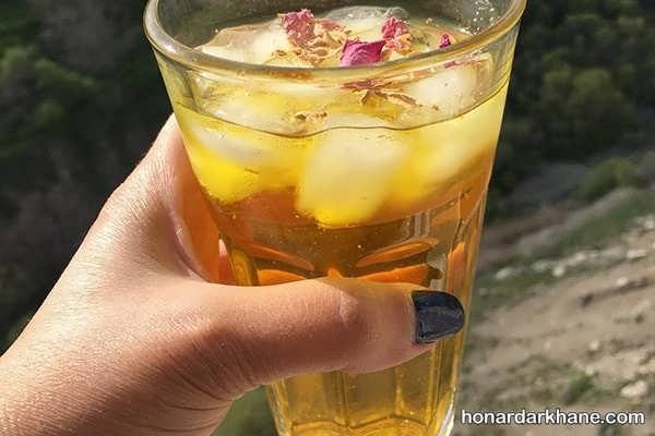نحوه آماده سازی شربت زعفرانی با طعمی بسیار خوشمزه