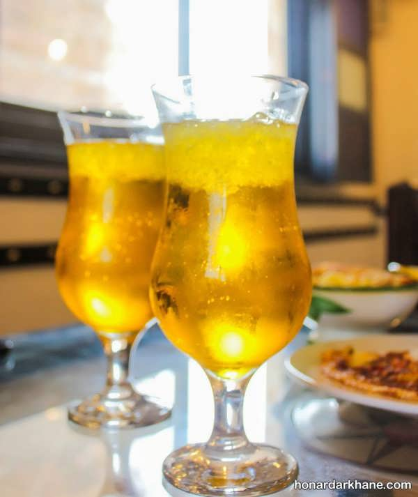 طریقه آماده سازی شربت زعفرانی