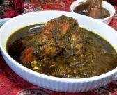 مرغ ترش شمالی را با روش اصلی بپز (طرز تهیه با رب انار)