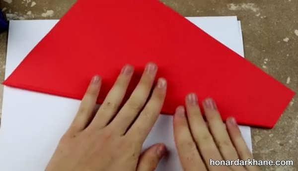 روش درست کردن اسلحه با کاغذ