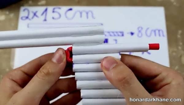 طریقه ساخت اسلحه کاغذی