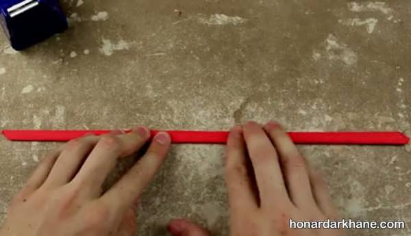 شیوه ساختن تفنگ کاغذی