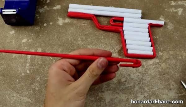 نحوه ساختن تفنگ کاغذی