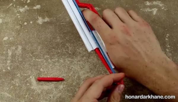 آموزش ساخت اسلحه کاغذی