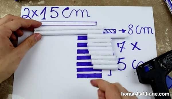 طریقه درست کردن اسلحه با کاغذ و مقوا