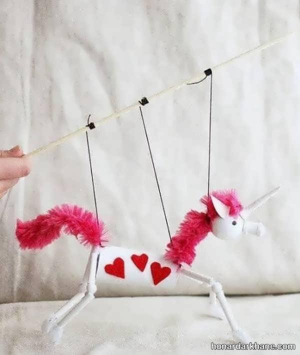 انواع اسباب بازی دست ساز خلاقانه