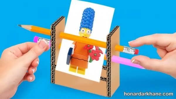 مدل های جدید اسباب بازی دست ساز با وسایل اضافی