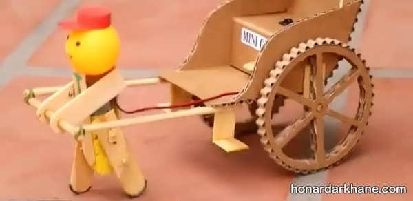 انواع اسباب بازی زیبا و خلاقانه با وسایل ساده