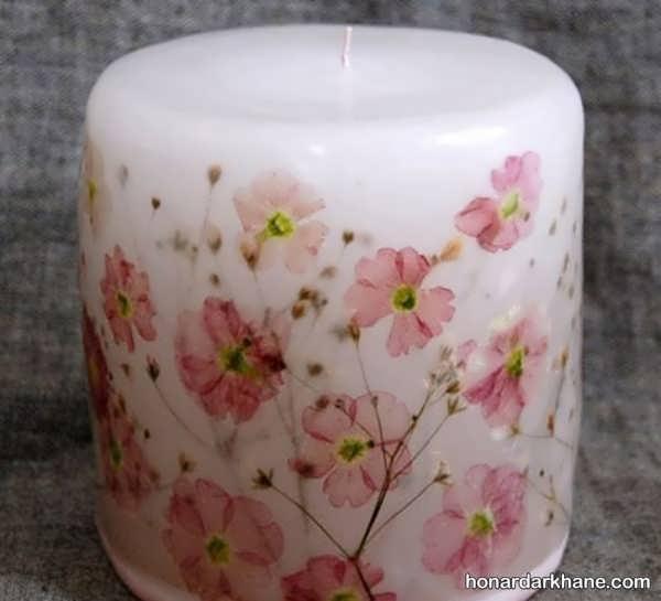 آموزش چاپ تصویر بر روی شمع