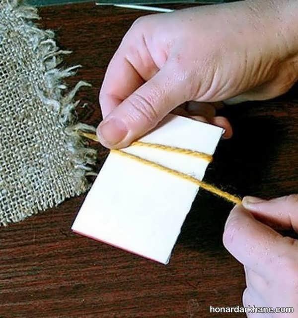 آموختن بافت شبه قالی به روشی ساده