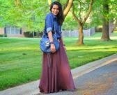 ست لباس با دامن بلند و شیک ترین استایل ها برای دختران جوان