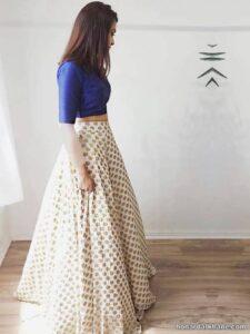 انواع ترکیب بندی زیبا و جالب لباس با دامن بلند
