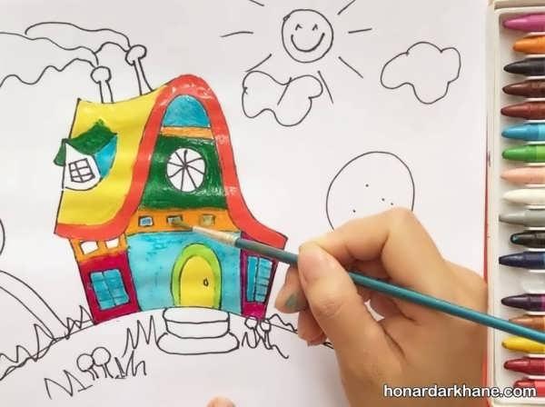 یادگیری نقاشی ساده به صورت مرحله به مرحله