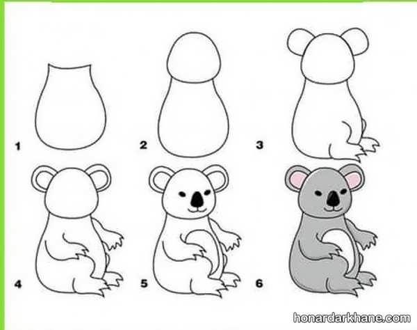 یادگیری نقاشی ساده کودکانه