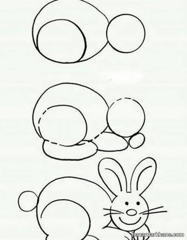 یادگیری نقاشی با الگویی آسان