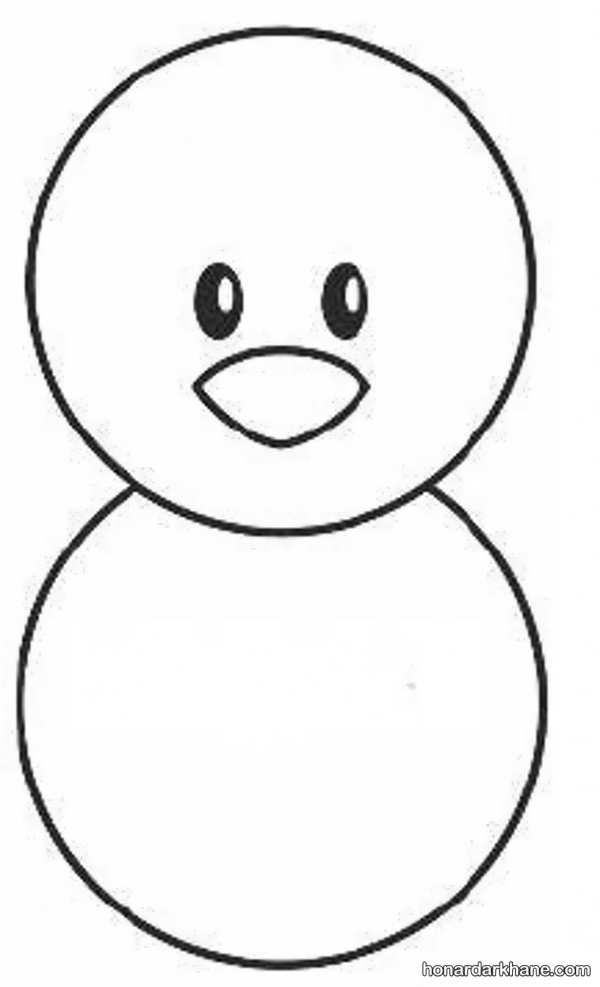 آموزش نقاشی برای کودکان با الگویی آسان
