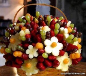 مدل های جالب و زیبا تزیین سالاد میوه