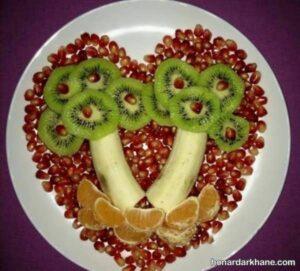 انواع ایده های جدید دیزاین سالاد میوه