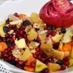 مدل های متنوع و جذاب تزیین سالاد میوه