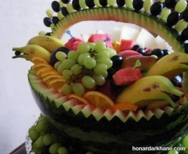 انواع دیزاین جالب سالاد میوه
