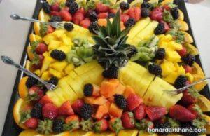 انواع دیزاین خلاقانه سالاد میوه