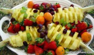 انواع ایده های خاص و جذاب دیزاین سالاد میوه