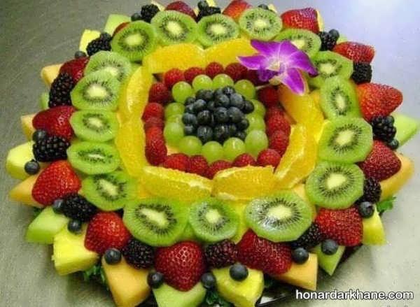 زیباترین انواع دیزاین سالاد میوه