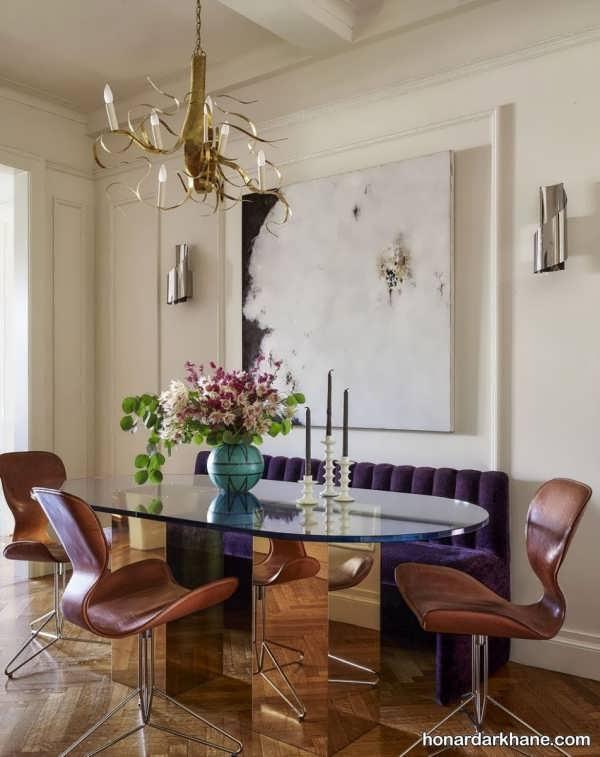 انواع تزیین زیبا و جالب دیوار با تابلو