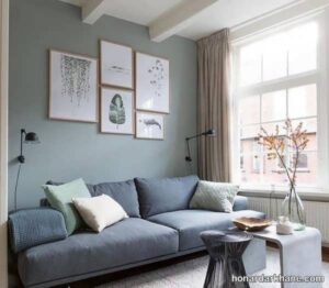 انواع دیزاین شیک و خلاقانه دیوار با تابلو