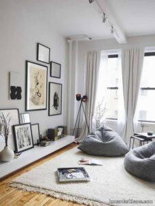 مدل های زیبا و جالب دیزاین دیوار با تابلو
