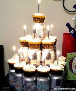 انواع دیزاین شیک شمع برای تولد