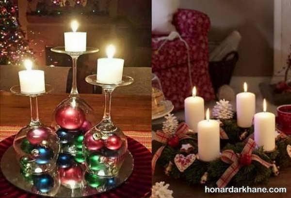 انواع تزیین عاشقانه شمع تولد
