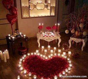 انواع ایده های خاص شمع آرایی تولد
