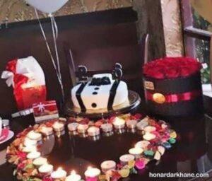 انواع مدل های جذاب تزیین شمع تولد