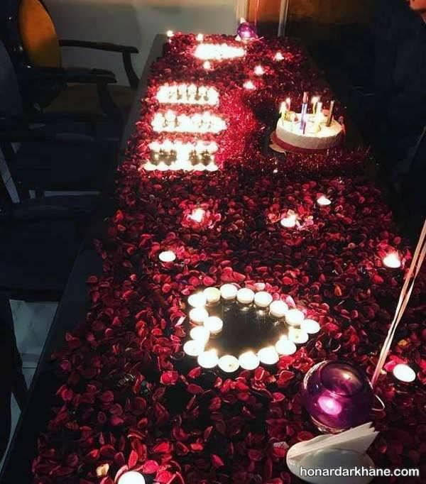 انواع تزیین جالب و شیک شمع برای تولد