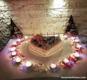 انواع مدل های خاص طراحی شمع برای تولد