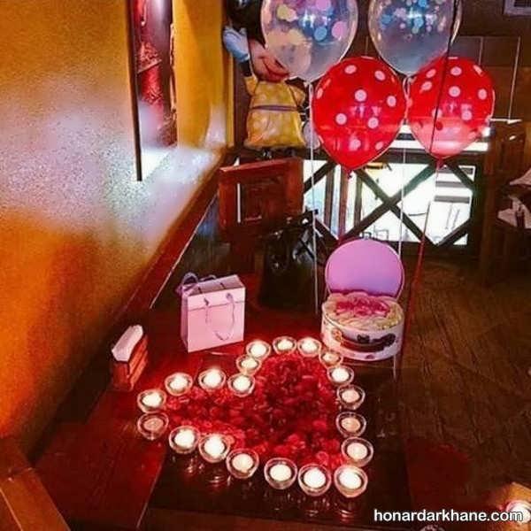مدل های خاص و عاشقانه شمع آرایی تولد