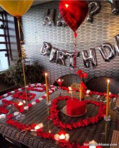 انواع سبک های جالب تزیین شمع برای تولد