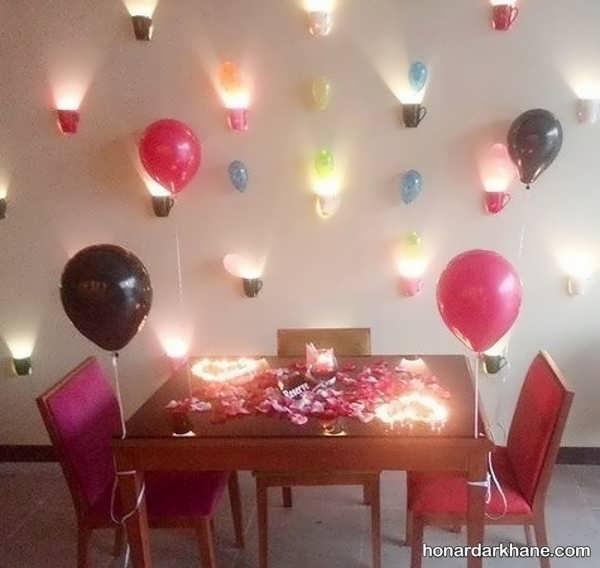 مدل های جالب و خاص تزیین شمع برای تولد
