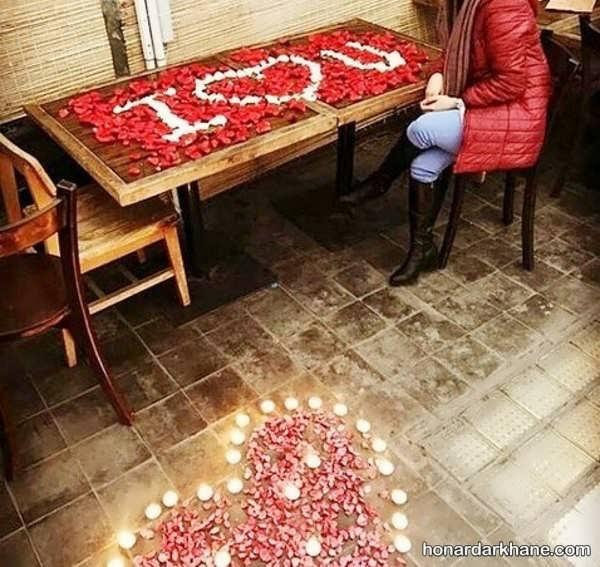 انواع سبک های شیک و رمانتیک تزیین شمع