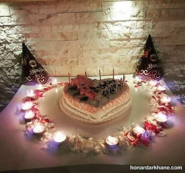 مدل های زیبا و خاص دیزاین شمع برای تولد