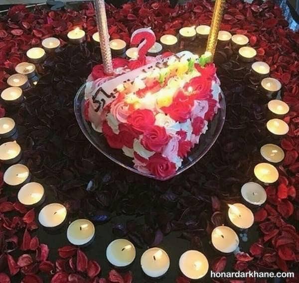مدل های زیبا و جالب دیزاین شمع برای تولد